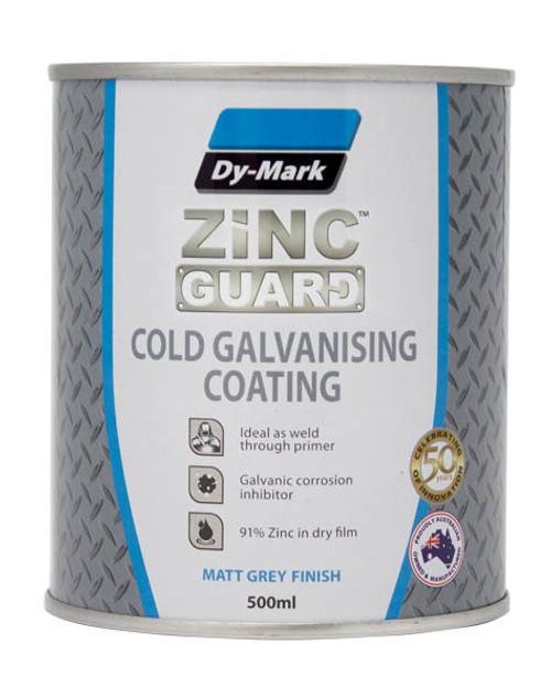 Zinc Guard Cold Galvanising Coating Brush On