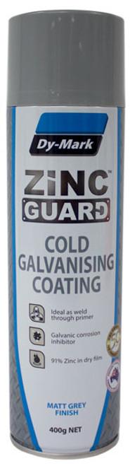Zinc Guard Cold Galvanising Metal Protection 400g