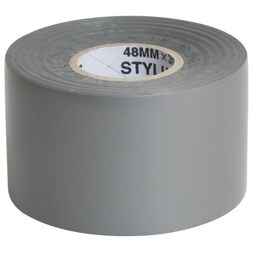 Silver PVC Tape - Duct Tape 160um 48mm x 30mtr