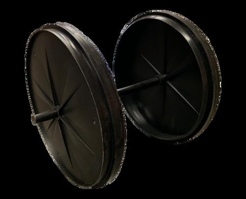 Line Master Replacement Masking Wheel Set