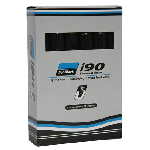 i90 Ink Permanent Ink Marker Chisel Tip Multiple Colors