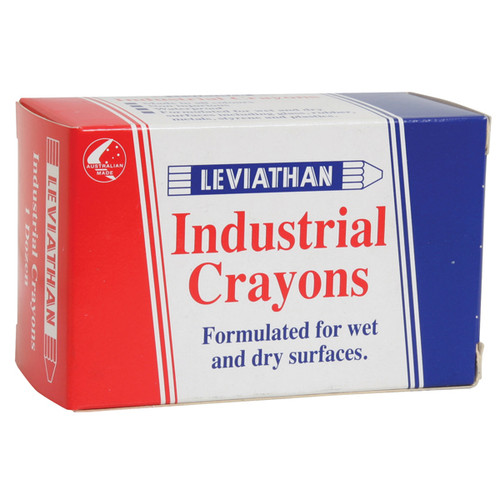 Leviathan Industrial Crayons for Timber, Cartons & Tyres Multiple Colors