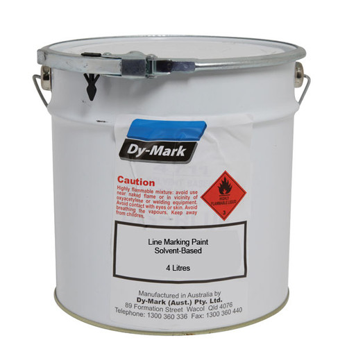 Line Marking 4ltr Paint Solvent Based 4ltr :