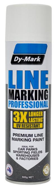 Line Marking Aerosol 500g Professional Multiple Colors