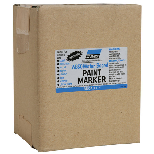 WB50 Water-Based Wide Tip Paint Marker