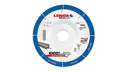 125 X 22.2 X 2MM CUT OFF WHEEL CUT 'N' DEBURR LENOX