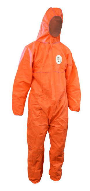 CHEMGUARD ORANGE SMS TYPE 5/6 DISPOSABLE COVERALLS