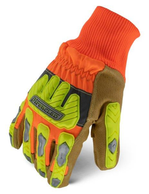 WINTER INSULATED LEATHER CUT A5 HI VIS COMMAND