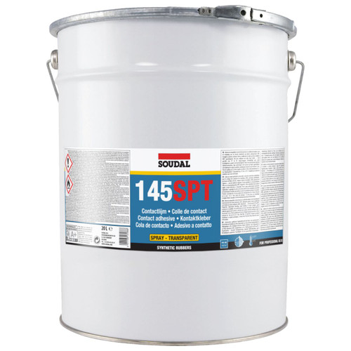 145SPT SPRAY CONTACT ADHESIVE CLEAR 20L