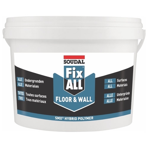 FIXALL FLOOR & WALL WHITE 4kg
