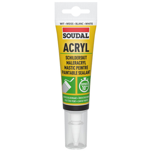 ACRYLIC WHITE GAP FILLER 80ml