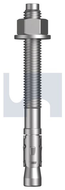 MECHANICAL GALVANISED THROUGH - TRU BOLTS CL5.8 HOBSON