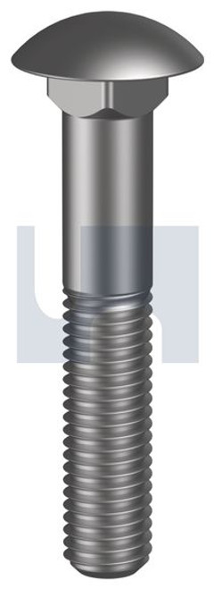 STAINLESS 304 CUP HEAD BOLT UNC