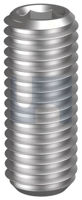 STAINLESS 304 GRUB SCREW CUP POINT METRIC
