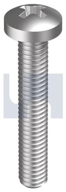 STAINLESS 304 PAN PH MACHINE SCREWS METRIC