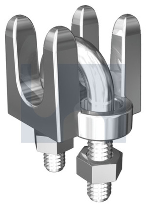 STAINLESS 316 WIRE ROPE GRIP