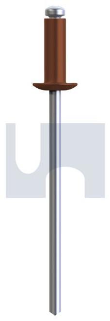 RIVET 5052 ALUM/STEEL TERRAIN DOME HEAD
