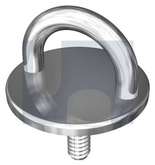 STAINLESS 304 ROUND PAD EYE BOLT