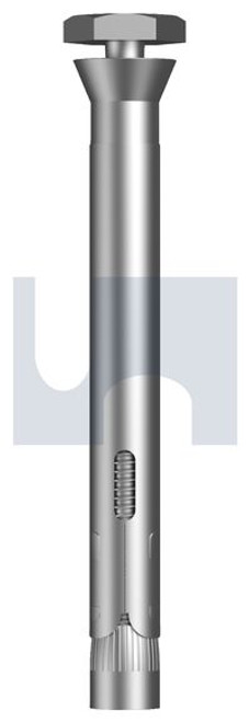 ZINC SECURITY COUNTERSUNK SLEEVE ANCHOR