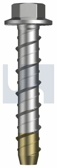 STAINLESS 316 HEX HEAD SCREW BOLT ETA APPROVED HOBSON