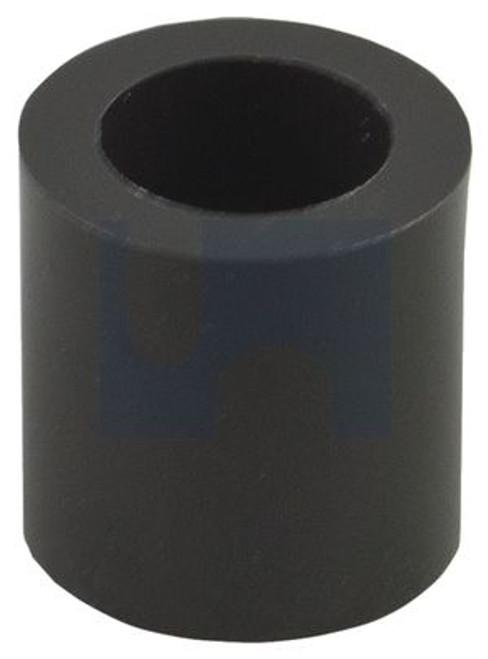 NYLON BLACK UV PLAIN ROUND SPACER 13 x 20 x 20