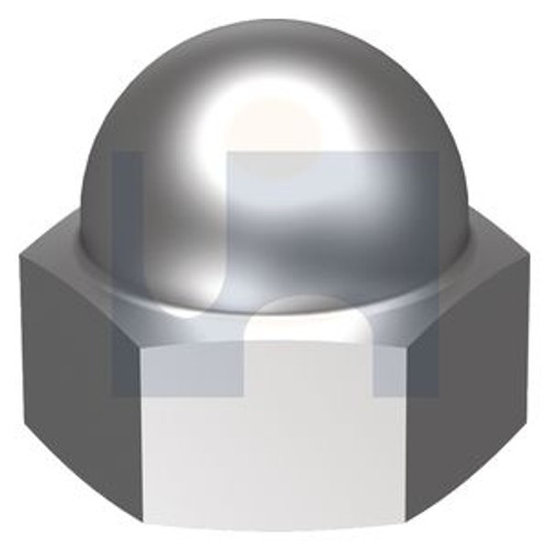 STAINLESS 304 WELDED DOME 2pce NUT 1/2 BSW
