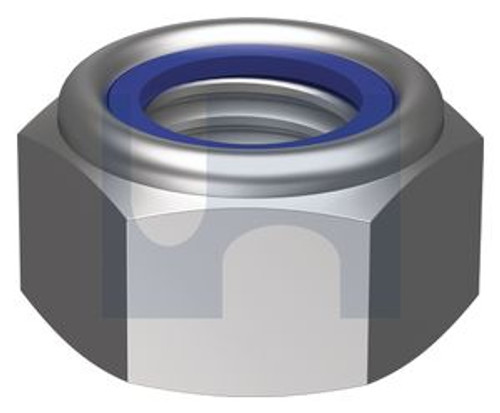 STAINLESS 304 NYLOC NUT BSW 1/2