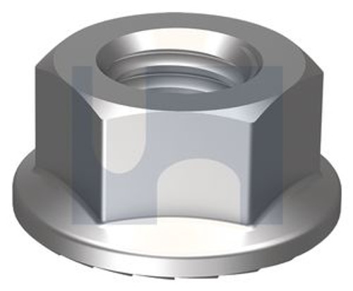 STAINLESS 316 SERRATED FLANGED NUT UNC 3/8