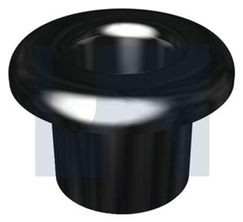 NYLON BUSH BLACK SPLIT TYPE 12.5mm