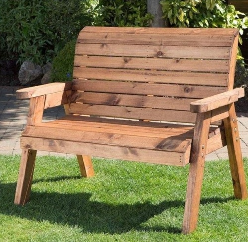 CHARLES TAYLOR - TRADITIONAL TWO SEAT  BENCH