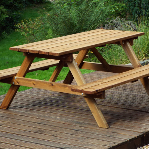 CHARLES TAYLOR - SIX SEATER PICNIC TABLE