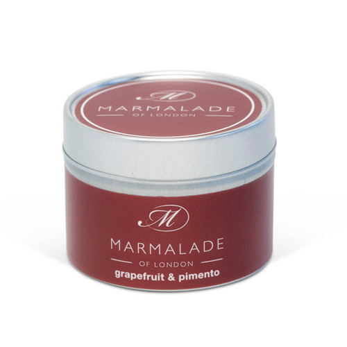 Grapefruit and Pimento Luxury Tin Candle - Small