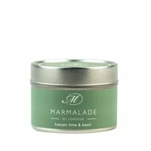Tuscan Lime and Basil Luxury Tin Candle - Small