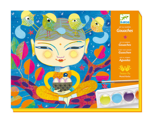 Paint By Numbers Craft Box