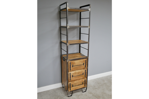 Bookcase Industrial