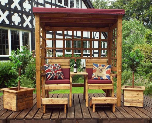 Henley Twin Seat Arbour