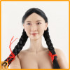 Eighth Route Female Medic - Nude Figure w/ Double Braids - 1/6 Scale