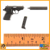 Spectre James Bond - Walther Pistol w/ Silencer #1 - 1/6 Scale -