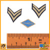 WWII US Army - Ranger Patches - 1/6 Scale -