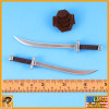 Blade Girl - 2 Swords & Holder Set #3 - 1/6 Scale -