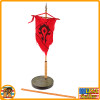 Garona Halforcen Female Orc - Banner Display Base - 1/6 Scale -