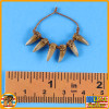 Garona Halforcen Female Orc - Fang Necklace - 1/6 Scale -