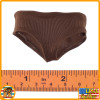 Galina Soviet Tank LT - Brown Underwear Panties - 1/6 Scale -