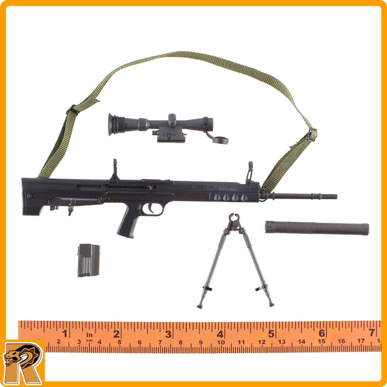 Chinese PLA Special Forces - QBU88 Sniper Rifle Set - 1/6 Scale -