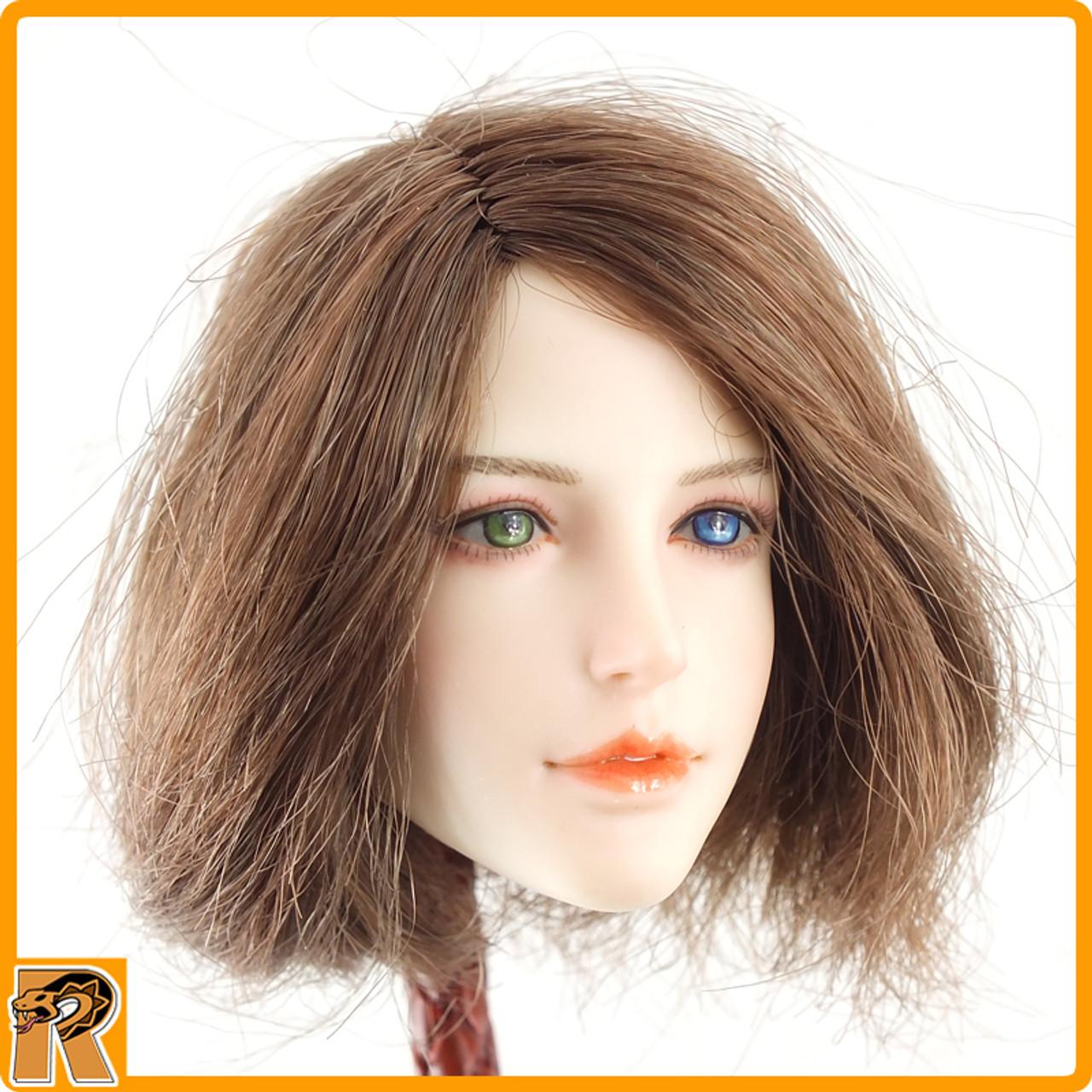 Female Summoner - Female Head Sculpt - 1/6 Scale -