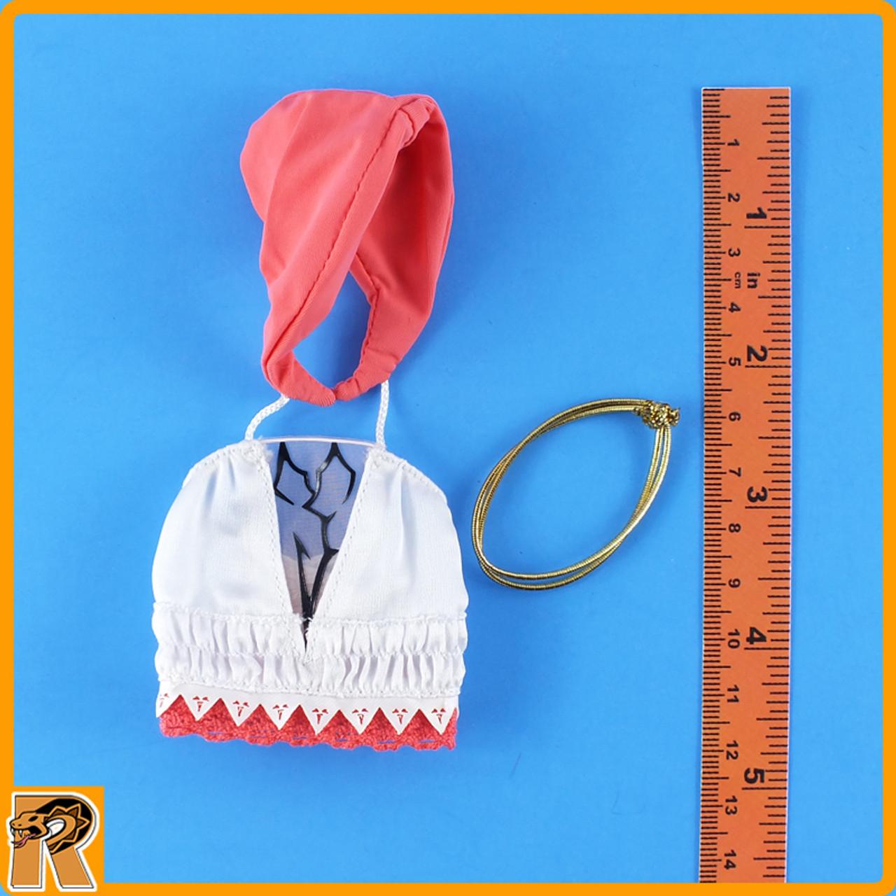 Female Summoner - Shirt w/ Hood & Belt - 1/6 Scale -