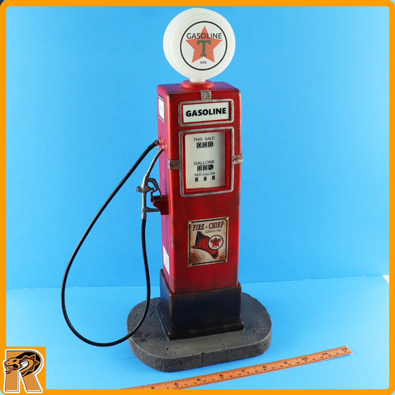Vintage Gas Pump - for 1/6 Scale Figures