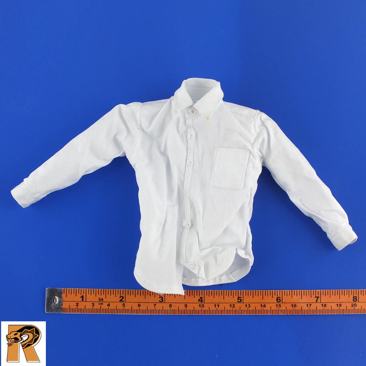 Obama - White Dress Shirt - 1/6 Scale