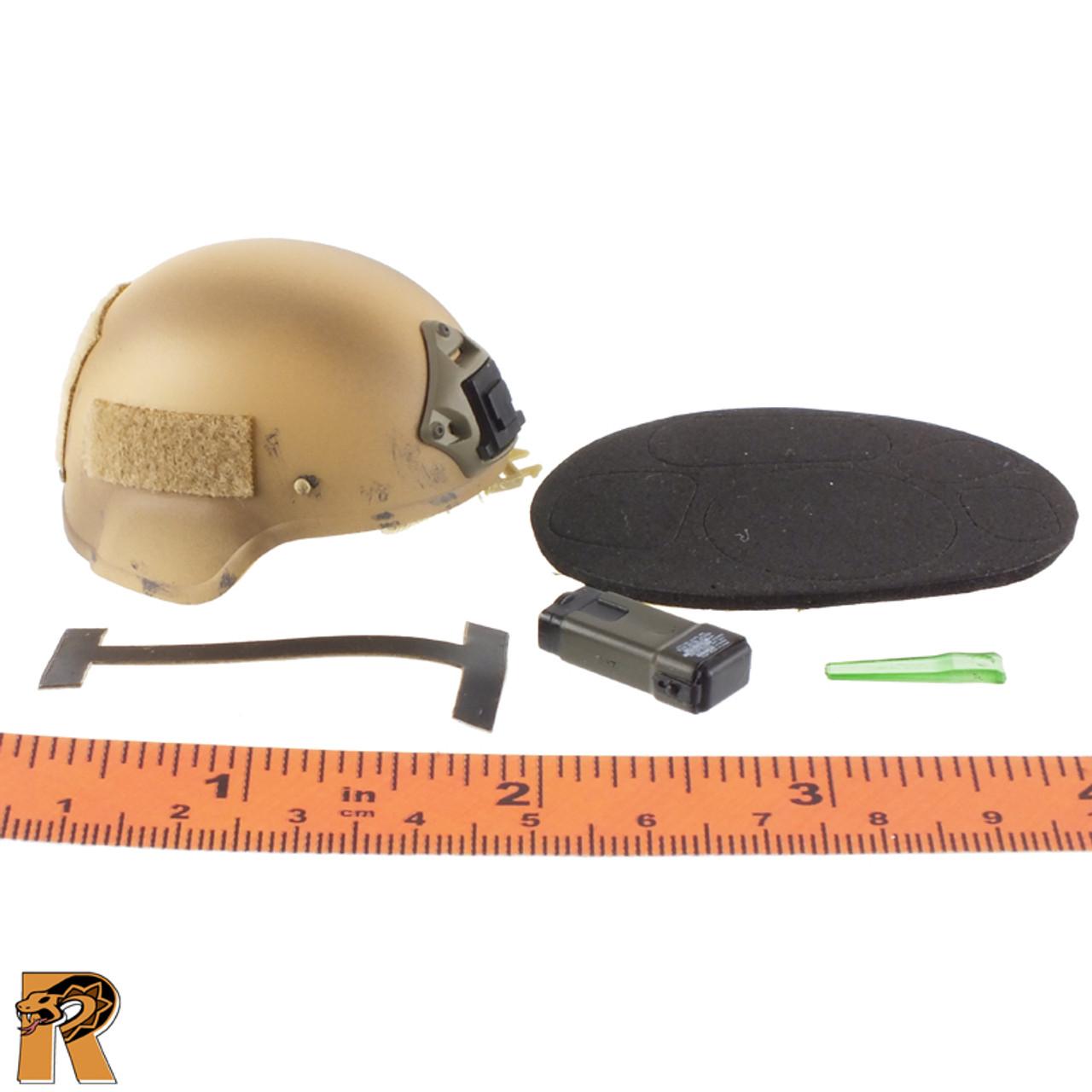 75th Ranger Afghanistan - Tan Helmet - 1/6 Scale