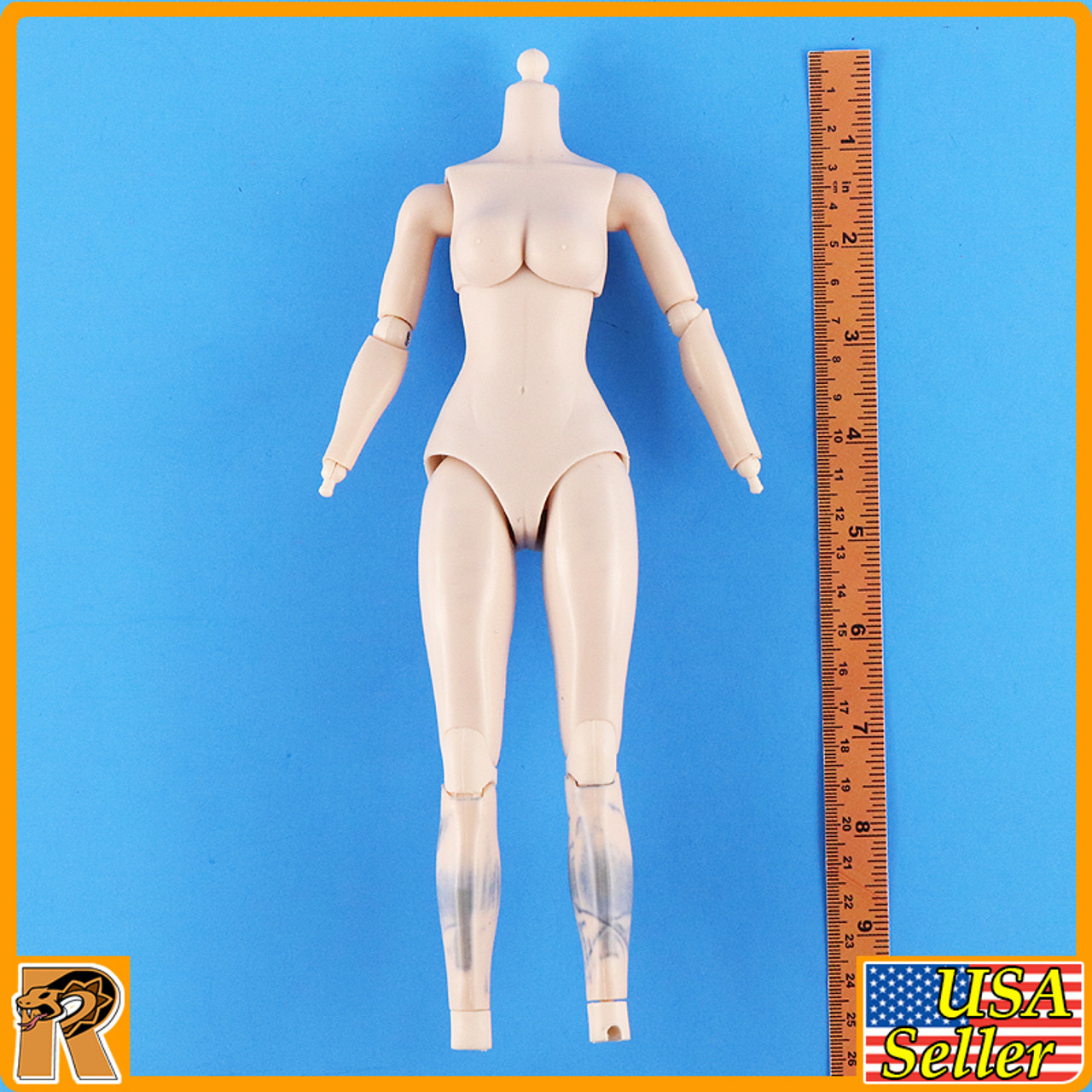 Crown Knight - Female Nude Body *STAINS* - 1/6 Scale -
